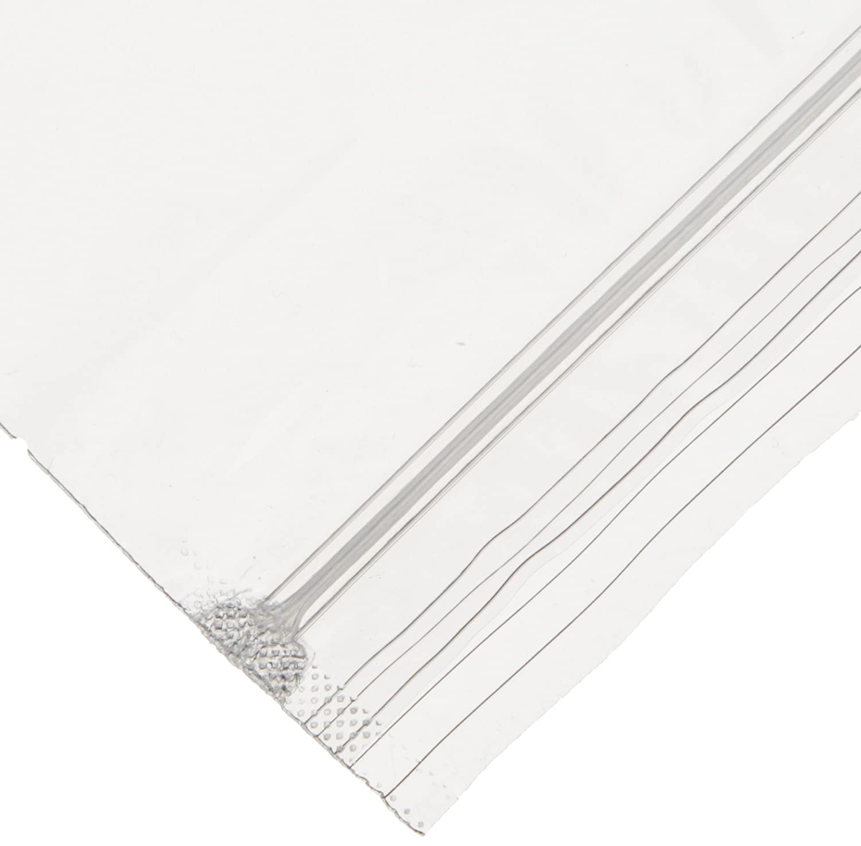 "Elkay F20810 2 mil Line Single Track Seal Top Bag, 8"" x 10"", Clear (Pack of 1000)"