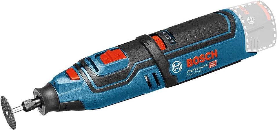 Bosch Professional GRO 12V-35 - Miniherramienta a batería (12V ...