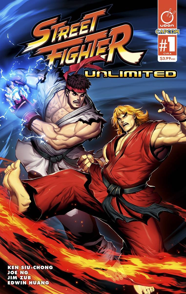 Download STREET FIGHTER UNLIMITED #1 CVR A GENZOMAN STORY PDF