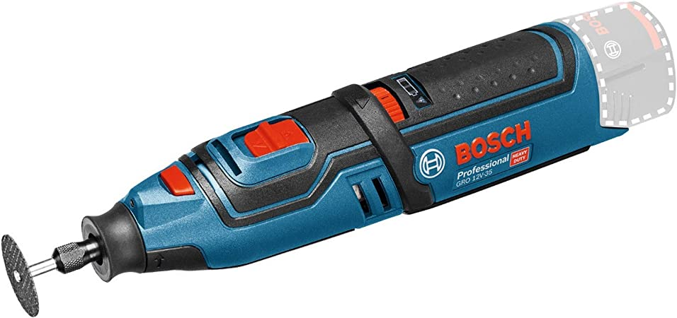 Bosch Professional GRO 12 V-35 Cordless Rotary Multi-Tool (Without Battery and Charger) - Carton: Amazon.co.uk: DIY & Tools