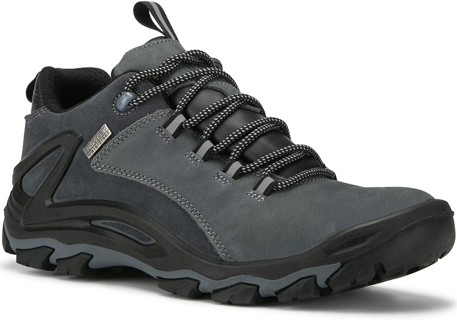 ROCKROOSTER Mens Hiking Shoes, Waterproof 4 Non Slip Outdoor Boots, Breathable, Lightweight, Anti-Fatigue, KS252 KS253