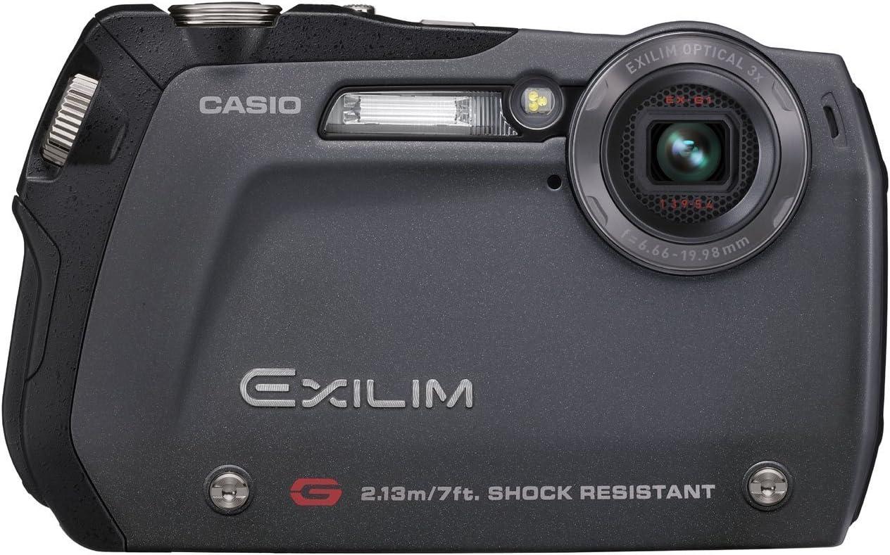Casio Exilim Ex G1 Digitalkamera 2 5 Zoll Schwarz Kamera
