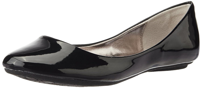 Black Patent Steve Madden Women's P-Heaven Flat Blk