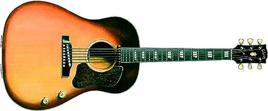 Tarjeta de felicitación de Guitarra 1962 Gibson J-160E de George ...