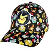 Pokemon Characters Pikachu Patch Kids Snapback Hat