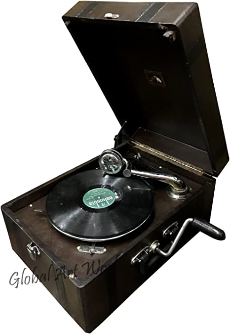 Amazon.com: Global Art mundo antiguo Tocadiscos ...