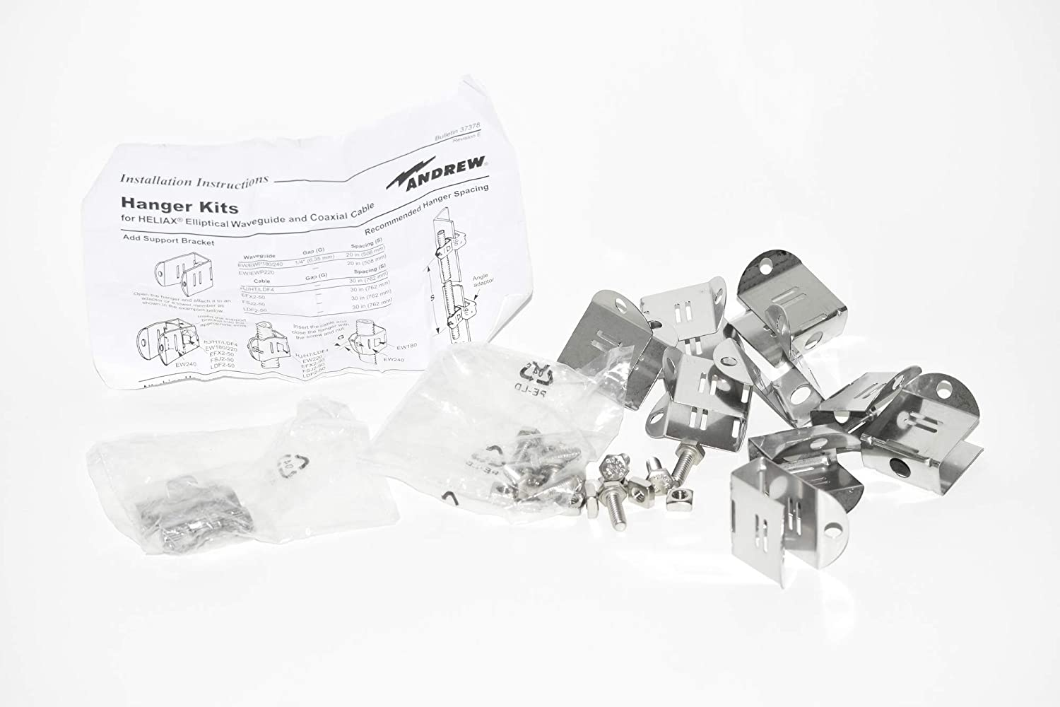 ANDREW HELIAX PRODUCTS Heliax Cable Hanger Kit-43211A