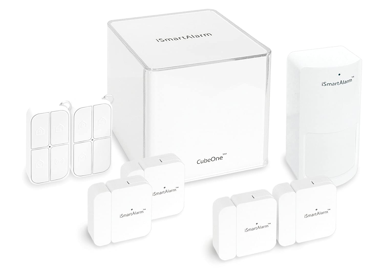 iSmartAlarm iSA5 Deluxe Package, White
