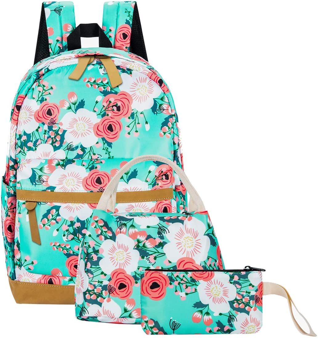 Backpack Cute Kids Backpack Strawberry Flower Leaf Pattern Children Bag Toddler Backpack Bookbag School Bag