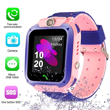 Amazon.com: Swifter Master S12 Kids Smart Watch Phone ...