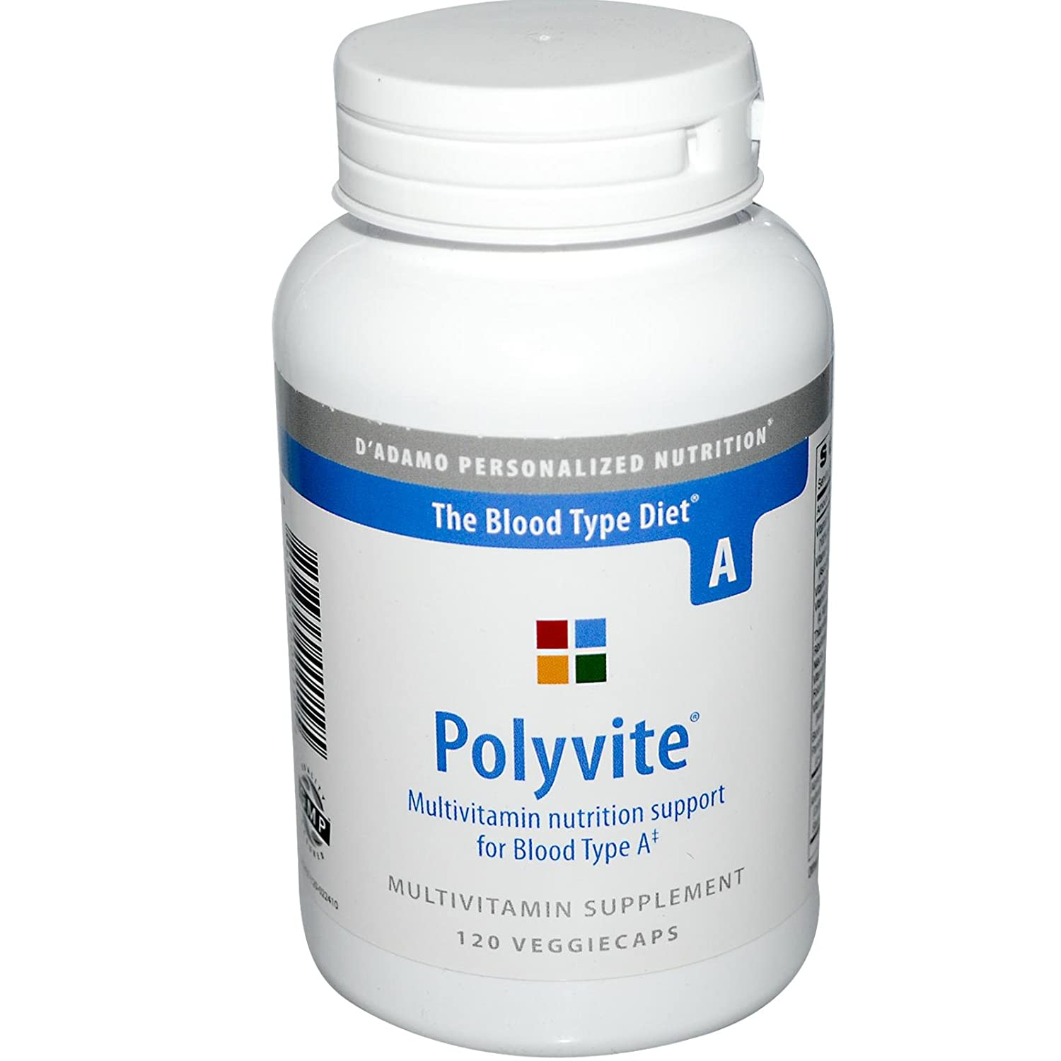 D Adamo Personalized Nutrition Polyvite A, 120 Count