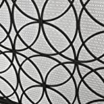 Veritas Single Panel Black Iron Fireplace Screen from GDF Studio