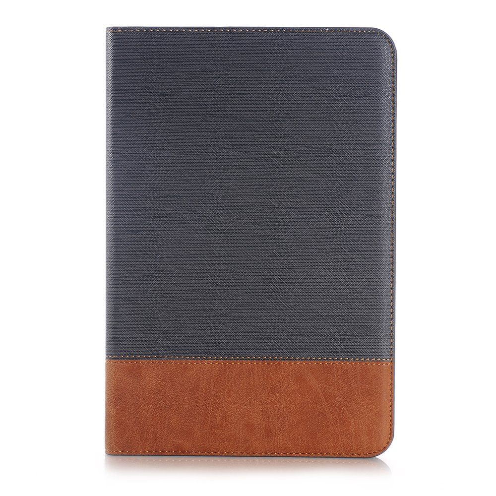 SAVYOU Galaxy Tab A 8.0 T350 Case Retro Style Slim Folio Leather Wallet Smart Cover Stand Case With Auto Wake / Sleep for Galaxy Tab A 8.0 Tablet SM-T350 Gray by SAVYOU