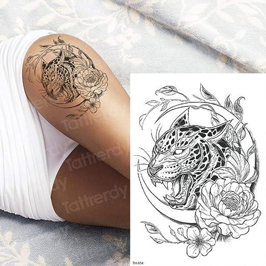 Handaxian 3pcsGeisha Etiqueta engomada del Tatuaje japonés Tatuaje ...