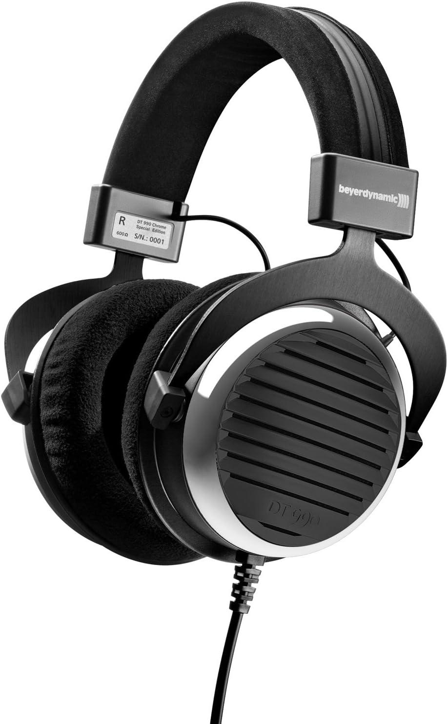 Beyerdynamic Dt 990 Premium 600 Ohm Over Ear Kopfhörer Chrom Gebürstet Limited Edition Audio Hifi