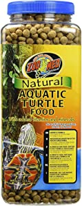 Zoo Med Natural Aquatic Turtle Food (Pellets) 13 oz - Pack of 3