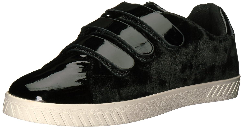 Frauen Fashion Sneaker schwarzer lack