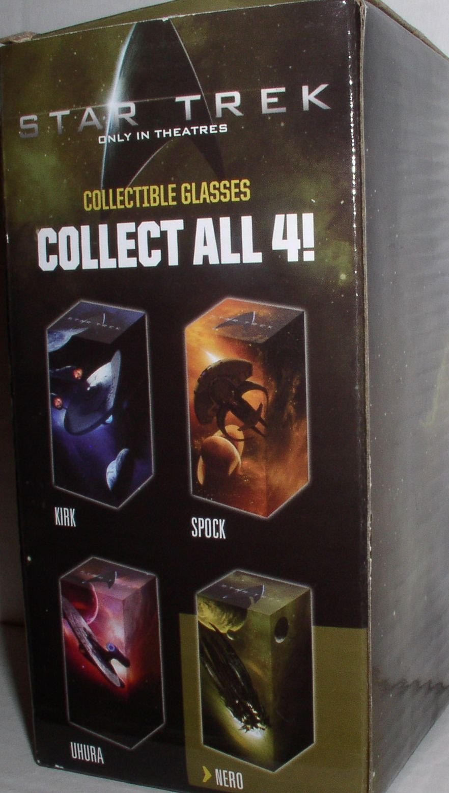 STAR TREK COLLECTIBLE GLASS ''NERO''
