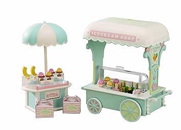 Sylvanian Families 2787 - Carrito de helados en colores pastel [Importado de Alemania]: Amazon.es: Juguetes y juegos