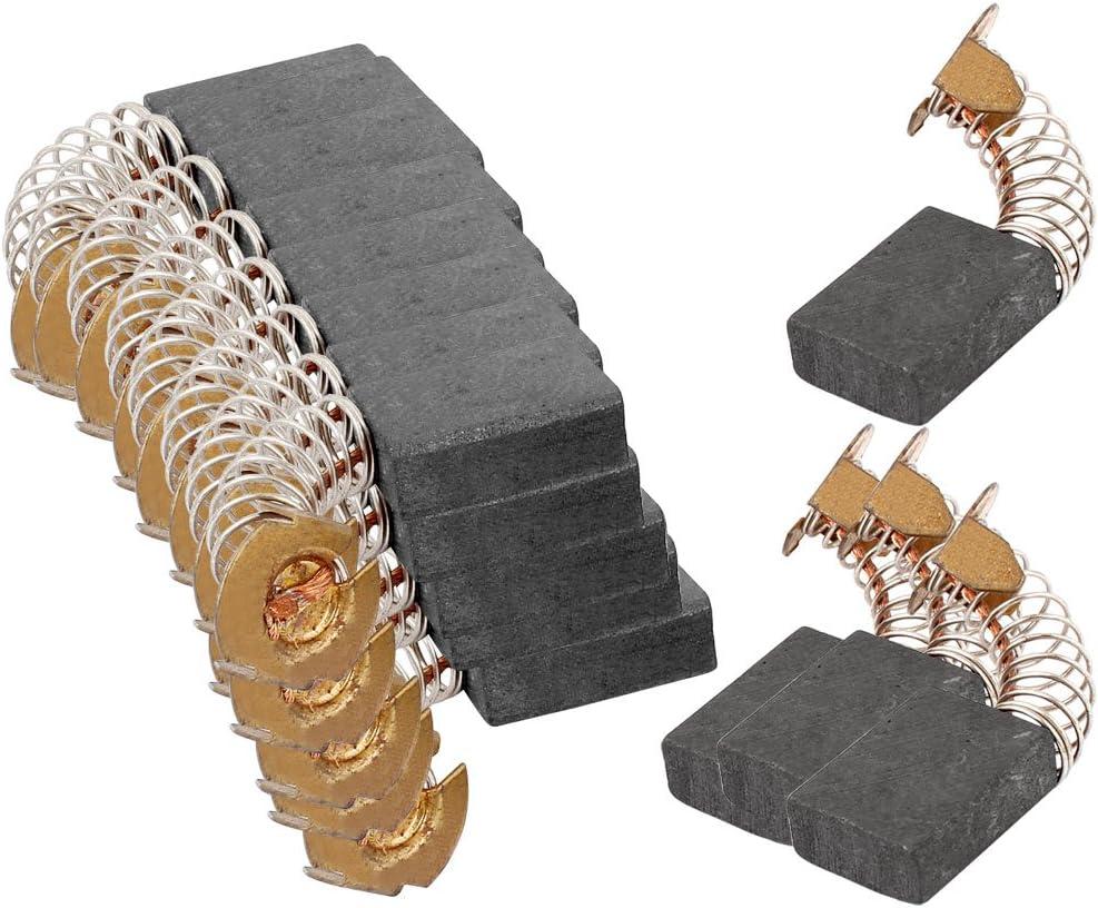 Sourcingmap 10pairs Cb 153 18 X 13 5 X 6 5mm Kohlebürsten Für Makita Elektrowerkzeug Baumarkt