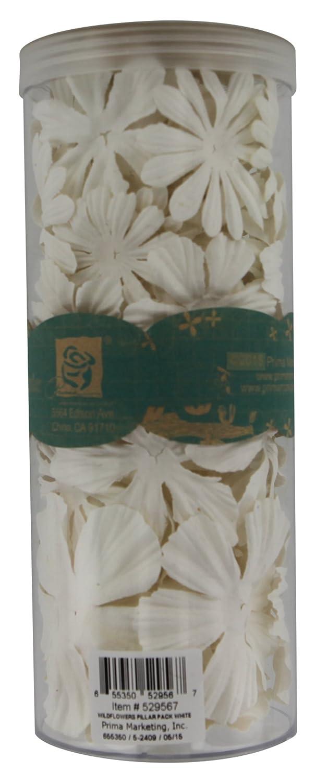 34 Blanc Pilier Sauvages Fleurs Gram Marketing Prima 10wqzz