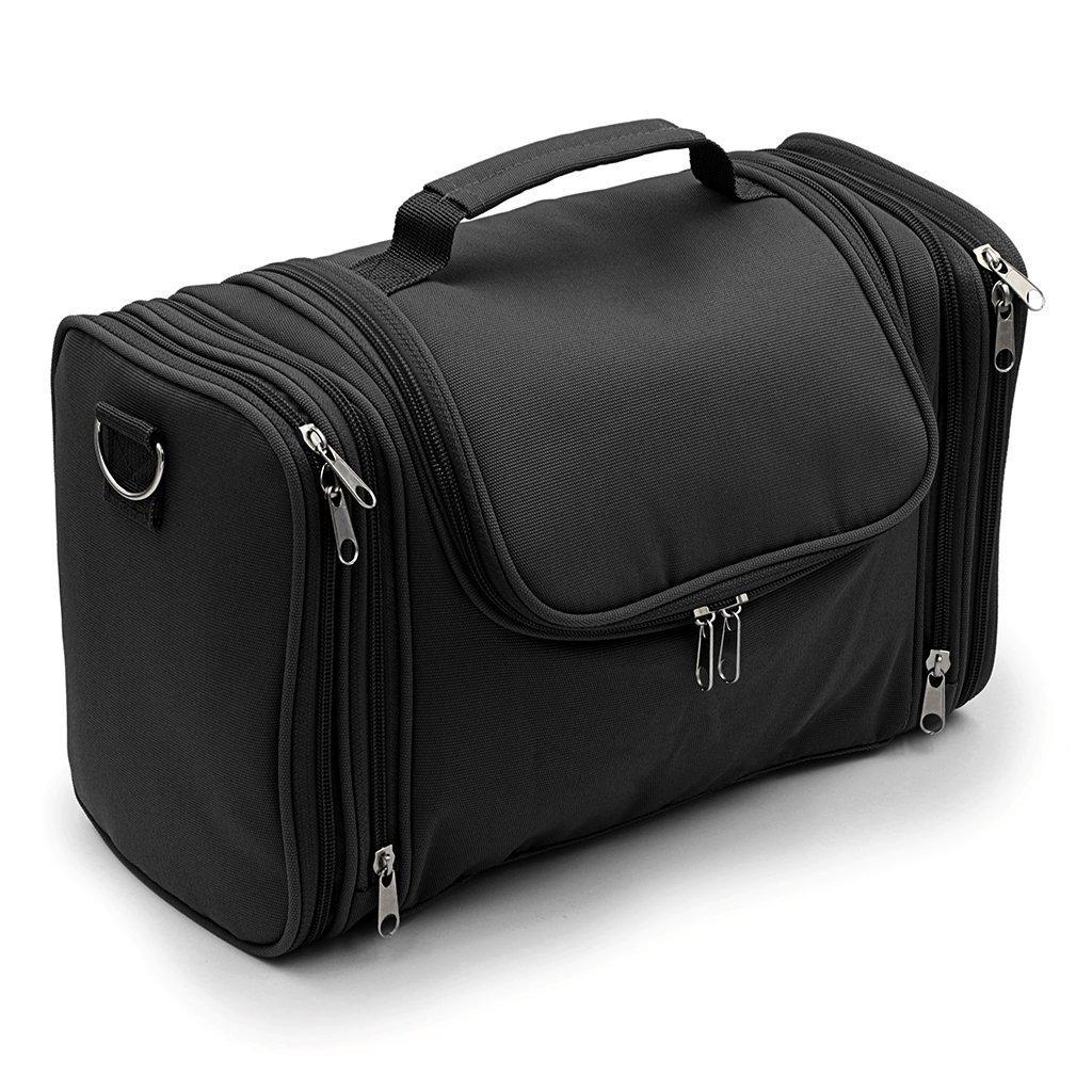 27ebadb3065c Hipiwe Large Hanging Travel Toiletry Bag   Shaving Grooming Dopp Kit   Makeup  Bag Organizer