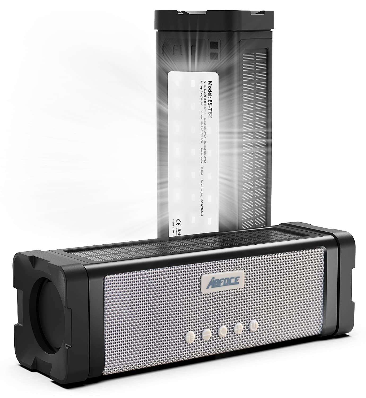 ABFOCE Solar Bluetooth Speaker
