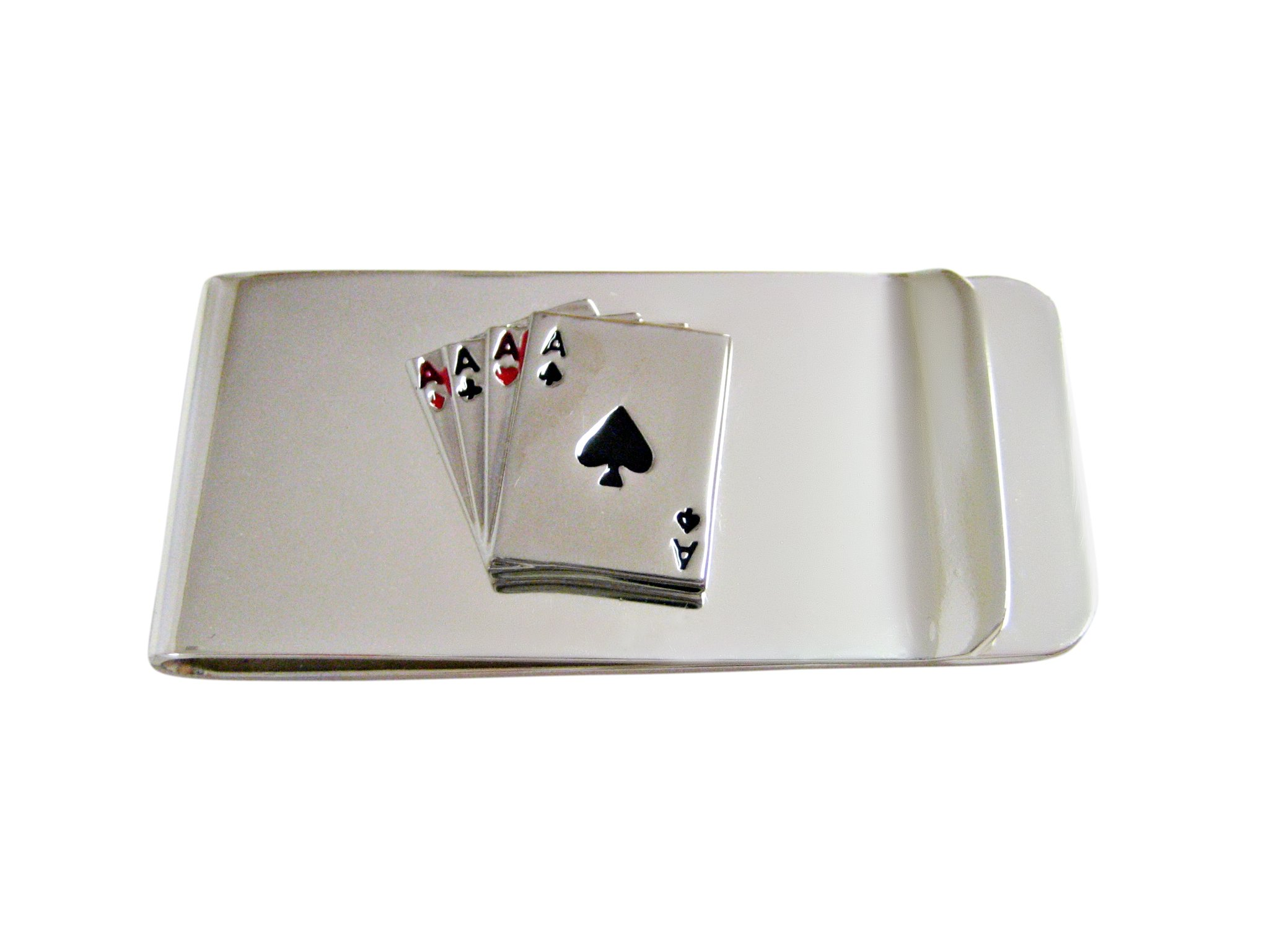Four Aces Gambling Money Clip