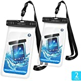 Firstbuy Waterproof Case, Dry Bag Phone Pouch for Outdoor Water sports,Case With Sensitive ScreenPerfect For iPhone X 8 7plus 6S 6S Plus Note 5 S7 S6 Edge LG,phones Up to 6 inches