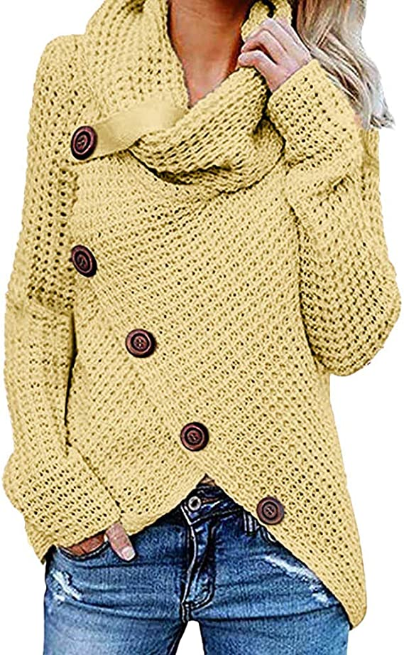 Battnot-Damen Jacke Lange Warme Wollmantel Revers Grosse Gr/össen Winter Langarm Slim Fit Elegant /Übergangsjacke Trenchcoat Frauen M/äntel Oberbekleidung Outwear Overcoat Parka Cardigan Tops S-XXXL
