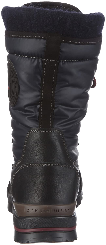 Tommy Hilfiger BRIDGET 2 A FW86812948, Damen Stiefel, Blau (NAVY BLACK  467), EU 37  Amazon.de  Schuhe   Handtaschen a2727110d6