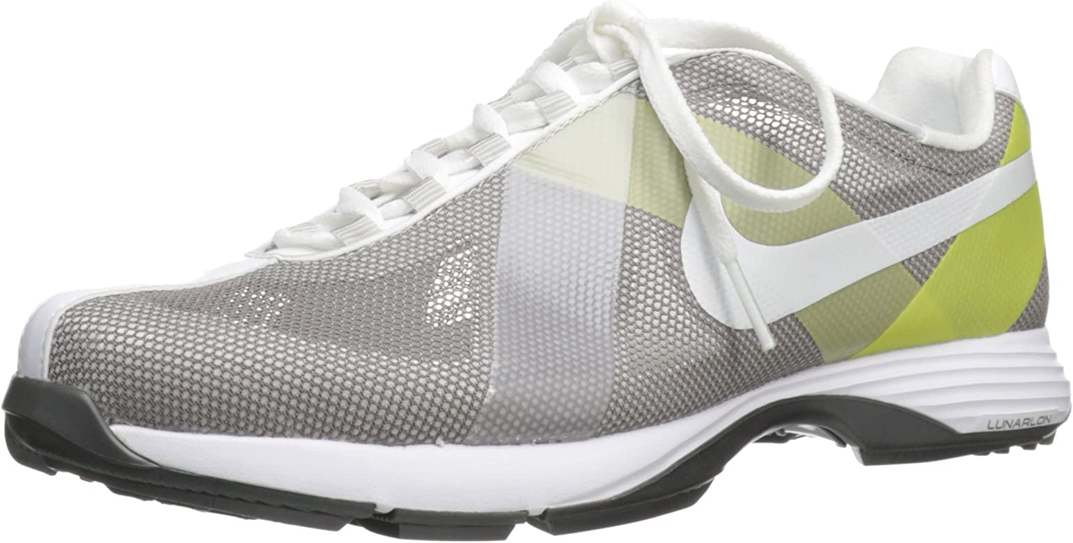 info for 45bbf 276c2 Nike Golf Women s Nike Lunar Summer Lite Golf Shoe,Sport Grey Soft Yellow