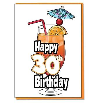Cocktails Cocktails Carte D Anniversaire 30 Ans Femme