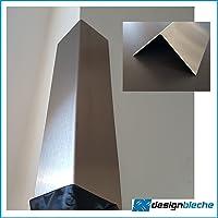 Perfil en ángulo (Acero Inoxidable, K240lijada 2000mm