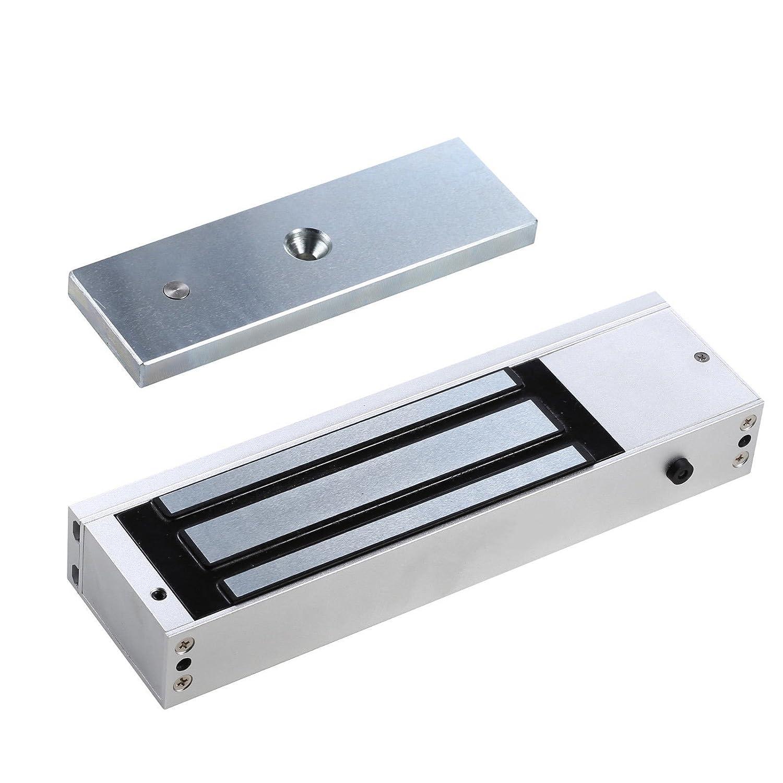 UHPPOTE 1 Puertas 180Kg 350lbs Fuerzas Cerradura El/éctrica Magn/ética Electromagn/ética