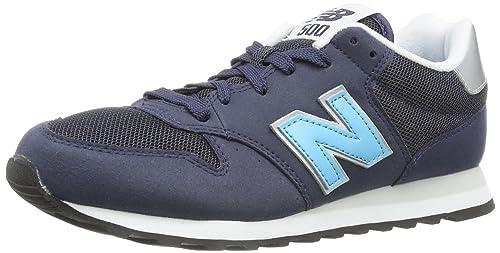 New Balance - Zapatos Para Hombre, Color Black/Grey, Talla 37.5