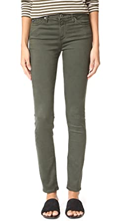 Ag Jeans Woman Mid-rise Skinny Jeans Grey Green Size 31 AG - Adriano Goldschmied Cheap Recommend Store For Sale Outlet New jdzIpn