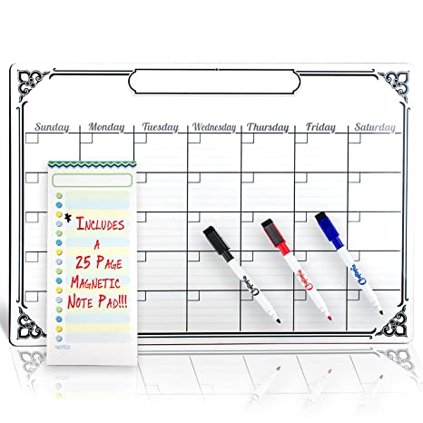 Amazon.com: Smart Planner - Calendario magnético para ...