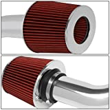 DNA MOTORING ITK-0056-RD Cold Air Intake System Red [for 03-06 Infiniti