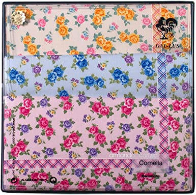 Gal-lus C-7510C/47 algodón, Estampado con colores suaves, Tamaño ...