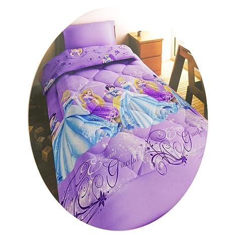 finest selection f3ae9 bb425 Trapunta Piumone Principesse Disney invernale Singolo in microfibra L934