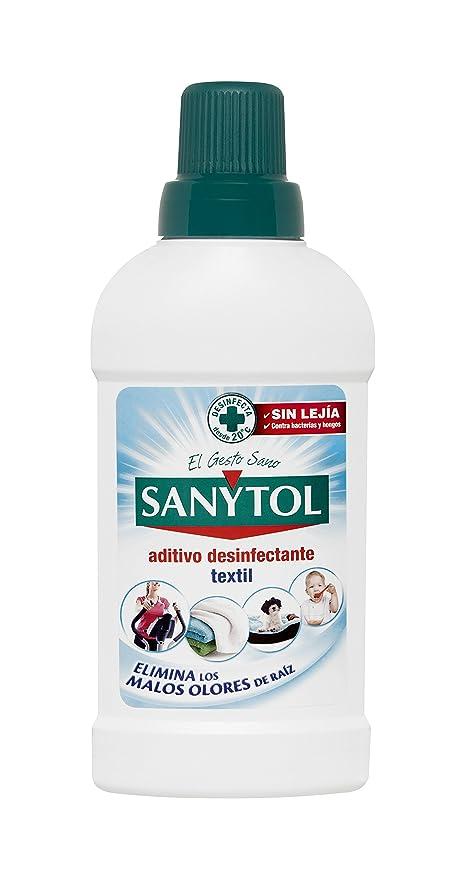 Sanytol - Desinfectante para Ropa, Elimina Bacterias y Malos Olores - 500ml
