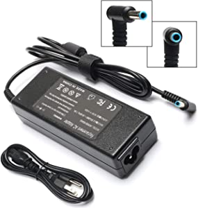 19.5V 4.62A 90W AC Adapter Laptop Charger for HP Envy Touchsmart Sleekbook 15 17 M6 M7 HP Pavilion 17 Pavilion 15 Notebook Series Power Supply Cord