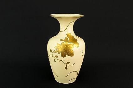 2 Art Nouveau Pottery Ovoid Flower Vases Antique English Circa 1900