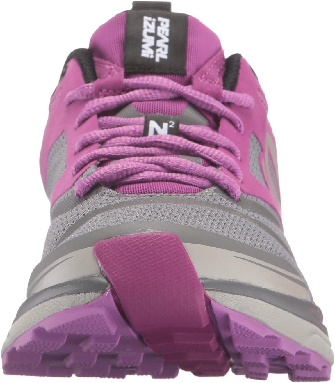 Pearl iZUMi Womens W EM Trail N 2 v3-W W Em Trail N 2 V3 Purple Wine/Smoked Pearl