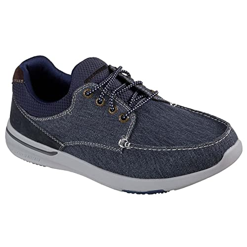 Fit Para Elent Relaxed Bote Men's Usa Skechers MosenZapatos NnkZ80XwOP