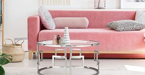 Mesa redonda, mesas de centro, mesa comedor cristal, mesas ...