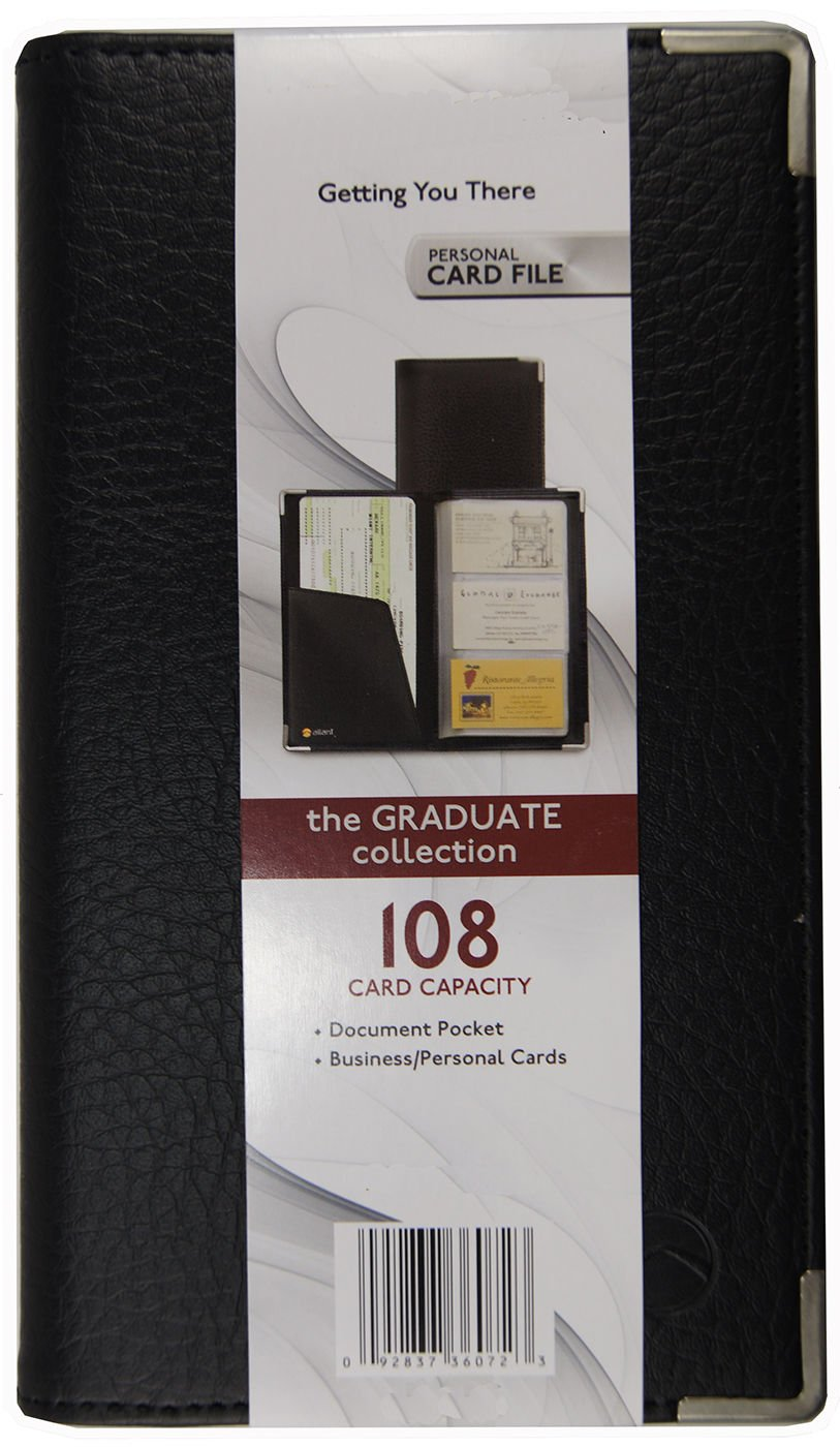 Pu Leather 108 Cards Business Id Credit Card Holder Book Case Keeper Organizer