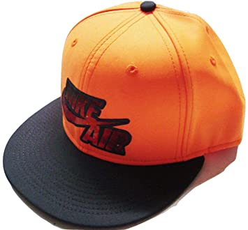 f6b1fa5cbe ... cheap nike neon light show orange black flat brim snapback hat cap osfa  b91eb 684c7
