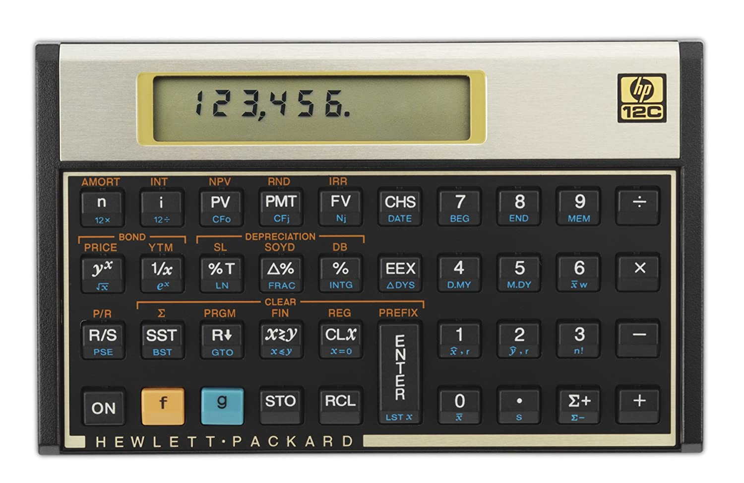 amazon com hp 12c financial calculator office products rh amazon com Finance Calculator HP Hewlett-Packard HP